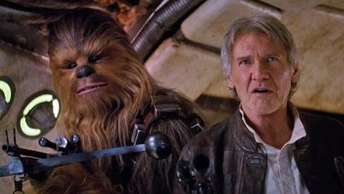 han and chewie the force awakens